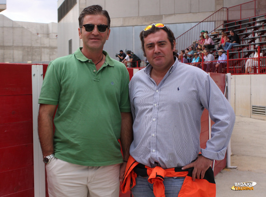 Antonio Muñoz  y Chiqui Medina