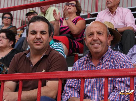 Serafín y José, aficionados de Valencia del V.