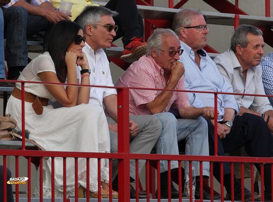 Noelia López, José Cutiño, Luismi y Mati Ramos