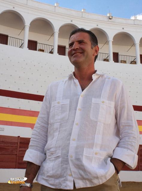 Antonio Muñoz pleno de madurez torera en su coso de Zafra (FOTO: Gallardo)
