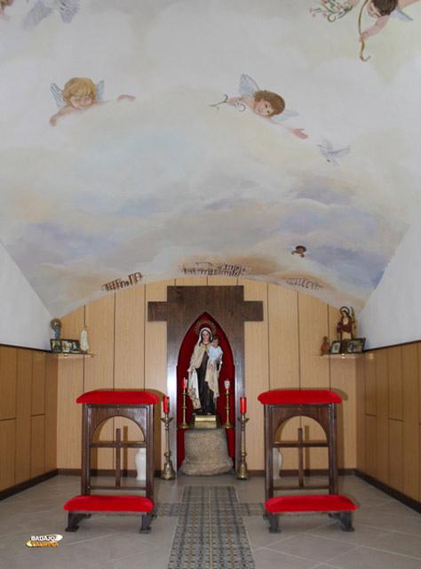 La nueva capilla de la plaza. Un dulce