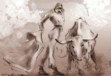 Toros de tinta, David Campos