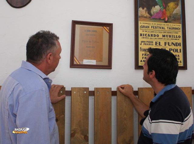 Algunos de los documentos expuestos en el museo