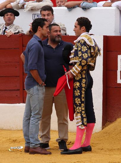 Brindis de Posada a su tío y a su hermano