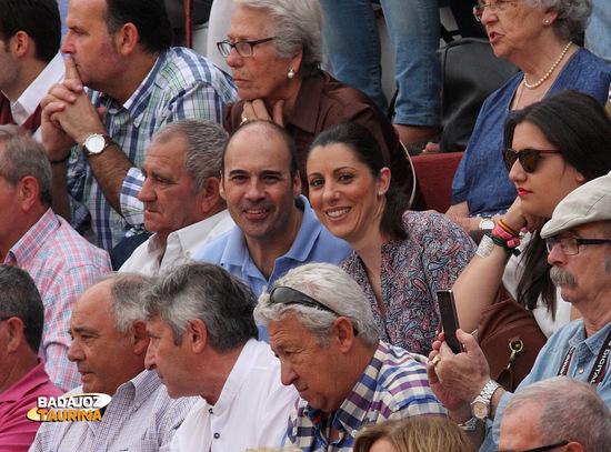 Javier y su esposa