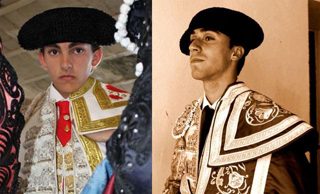 Los novilleros Luis Manuel Terrón y Fernando Flores, en imágenes de archivo (FOTOS:Gallardo)