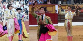 Ginés Marín, José Garrido y Posada de Maravillas (FOTOS: FIT y Gallardo)