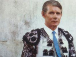 El banderillero Luis Alegría (QEPD) cuyo traje será saya de la Virgen de La Palma