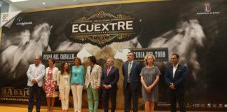 Acto inauguracional de la VIII feria del caballo y el toro ECUEXTRE
