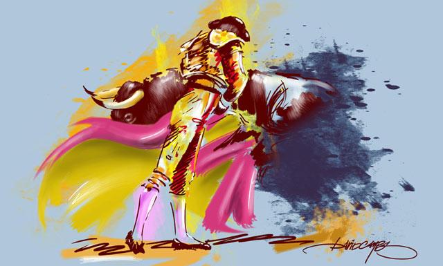 Dibujo de David Campos