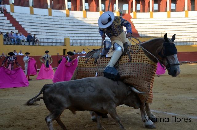 El picador pacense Álvaro Marrón