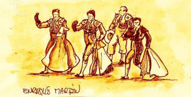 Obra de Enrique Martín