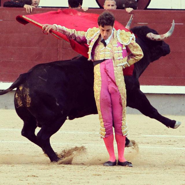 Tulio Salguero en Las Ventas. Foto:Joël Buravand