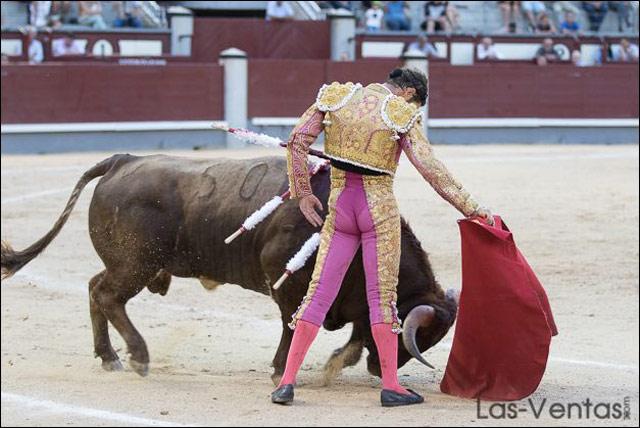 Tulio Salguero en Las Ventas. Foto: Las-Ventas.com