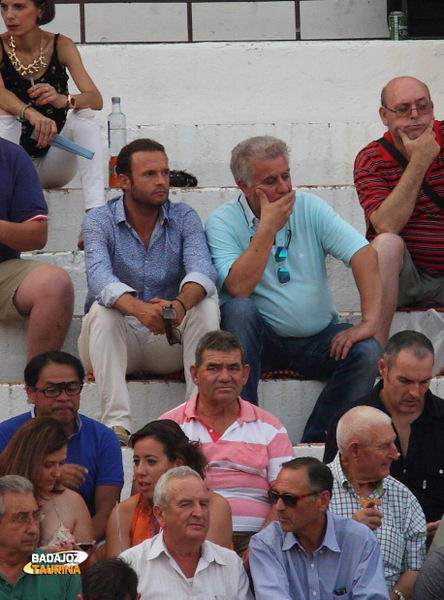 Antonio Ferrera junto a su amigo Pepe Marchivirito