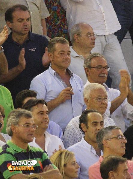Manuel Vázquez vino desde Cabeza la Vaca a ver la corrida