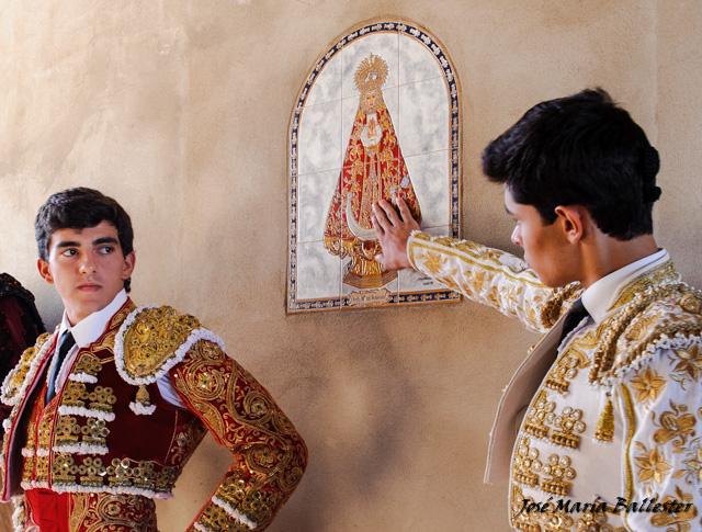 Terrón y Juanito piden protección a la Virgen del Soterraño