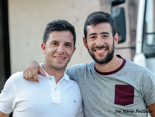 Dos grandes amigos unidos por una misma pasión