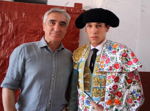 Ginés Marín y su apoderado José Cutiño