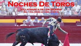 Cartel Noches de Toros de la ACT El Albero de Villafranca de los Barros