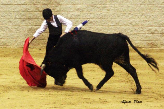Alumno de la Escuela Taurina de Badajoz