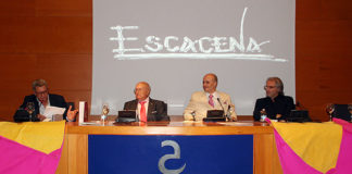 Presentación en Almendralejo del libro: Escacena, pinceles taurinos