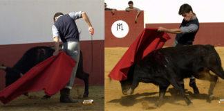 Rubén Pinar tentando en Guadajira imagen misteriosa de nuestro concurso