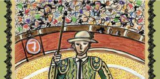 Obra de Joaquín Sabina que ilustrará los carteles de la próxima feria de Olivenza