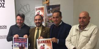 Acto de presentación del cartel del II Bolsín Ciudad de Llerena