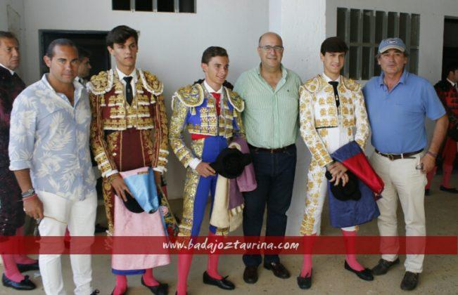 La escuela de Badajoz con sus representates