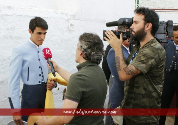 Juan Bazaga y Tonino siempre al pie de la noticia