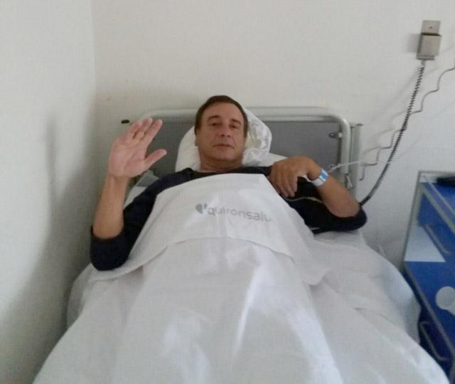 El ganadero José María Marrón hospitalizado en la Clínica Sagrado Corazón de Sevilla