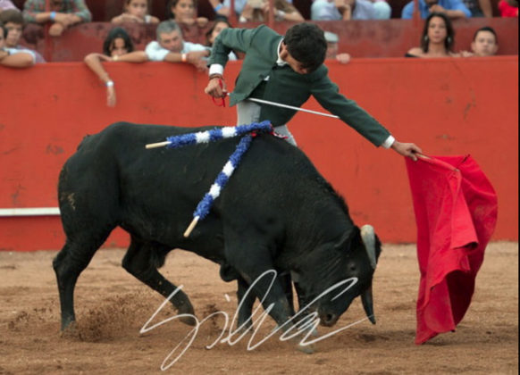 Carlos Domínguez en Vila Boim (FOTO: Silva)