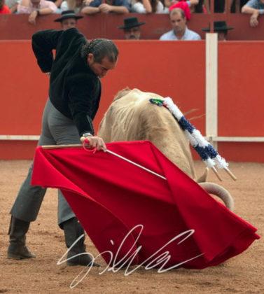 Luis Reinoso 'Cartujano' en Vila Boim (FOTO: Silva)