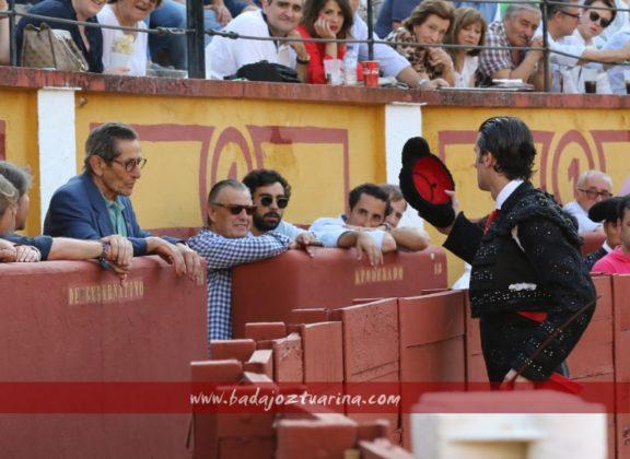 Lancho brinda el primero a Andrés Vázquez