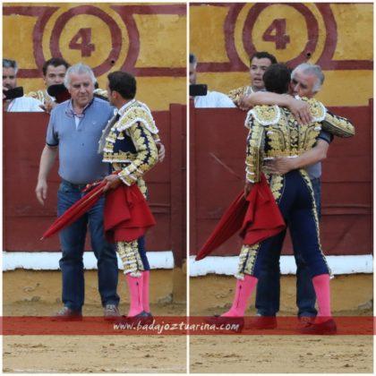 Emotivo brindis de Ferrera a Pepe Marchivirito