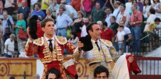 Marín y Ponce paseados a hombros
