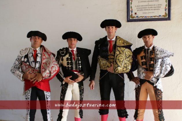 Israel Lancho con su cuadrilla de nuevo en Badajoz