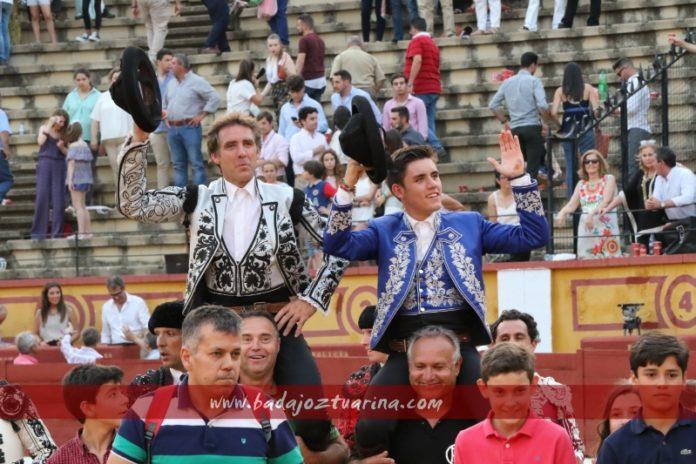 Salida a hombros de Pablo y Guillermo H. de Mendoza