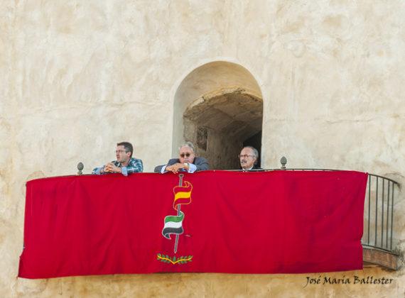 El palco presidencial
