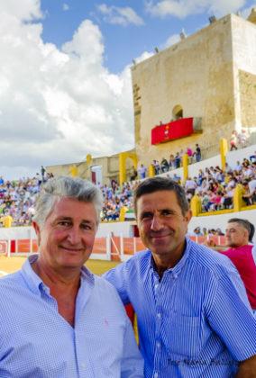 Curro Carrillo y Antonio, dúo de lujo