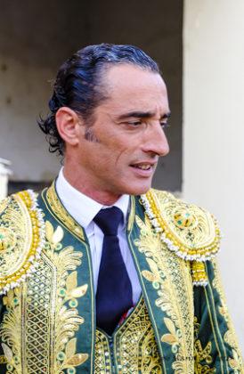 El picador pacense Borja Ruiz