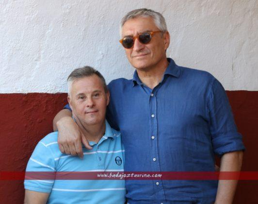 Pepe Cutiño y Alberto