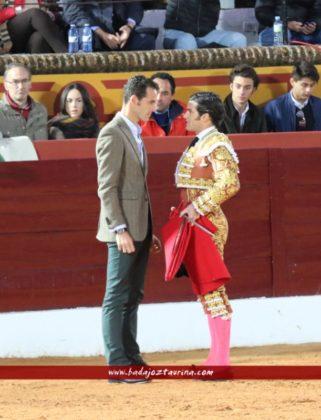 Garrido brindó a Pepe Moral. Dos toreros con raza.
