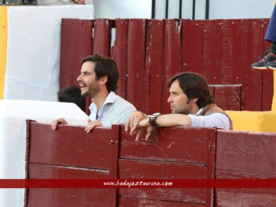 Andrés Romero viendo a su amigo y mentor