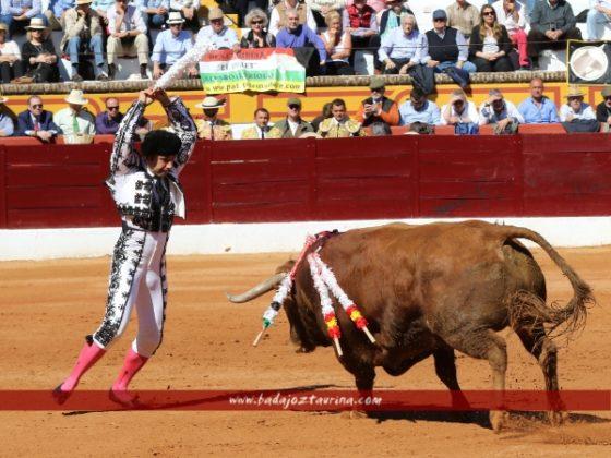 Javier Valdeoro volvió a vestirse tras el percance de Colmenar