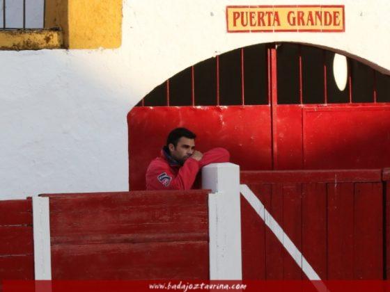 José Antonio Nogales aficionado de puerta grande