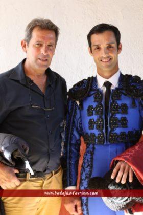 Sierra y Miguelín, toreros de Mérida