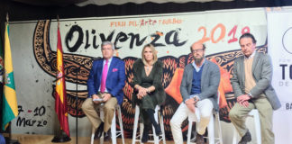 Luis Carlos Franco, Cristina Sánchez, Borja Cardelús y Fernando