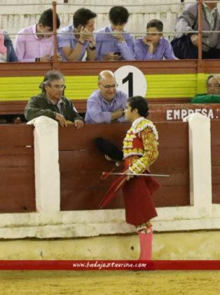 Brindis de Valares a la Escuela Taurina de Badajoz
